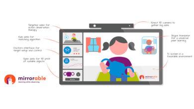 Photo of Mirrorable : una piattaforma digitale per combattere i danni dell'ictus infantile